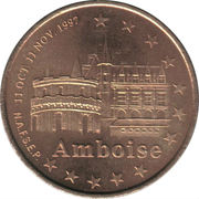 1 Euro (Tours and Touraine) – obverse