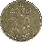 1 Euro (Vimoutiers) – reverse