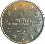 1 Euro D'Arromanches [14] – reverse