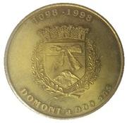 1 euro de Domont (95) – obverse