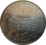 1 Euro (Aix en Provence) – reverse