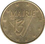 1 Euro - Paris (Mairie 13) – obverse