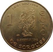 1 Euro - Sorgues – reverse