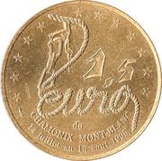 1,5 Euro - Chamonix Mont-Blanc – reverse
