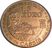 1½ Euro (Cassis) – reverse