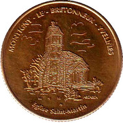 1½ Euro (Montigny le Bretonneux) – obverse