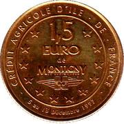 1½ Euro (Montigny le Bretonneux) – reverse