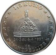 1½ Euro (Montpellier) – obverse