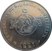 1½ Euro (Montpellier) – reverse