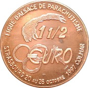 1½ Euro (Strasbourg) – reverse