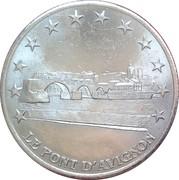 2 Euro (Avignon) – obverse