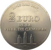 2 Euro (Cambrai) – reverse