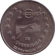 2 Euro (Cherbourg) – reverse