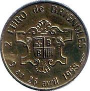 2 Euro (Brignoles) – reverse