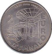 2 Euro (Epinal) – reverse