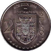 2 Euro (Etampes) – reverse