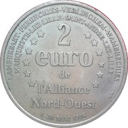2 Euro (l'Alliance Nord-Ouest) – reverse