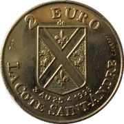 2 Euro (La Cote-Saint-André) – obverse