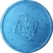 Supermarket deposit token - Flaschenpfand TWS – reverse