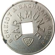 Parking Token - Parkmünze (Scheidt & Bachmann) – obverse