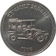 Token - Shell (Renault 20/30 HP 1906) – obverse