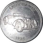Token - Shell (Lagonda V-12 1939) – obverse
