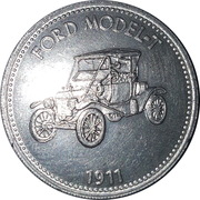 Token - Shell (Ford Model T 1911) – obverse