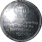 Shell Token - Sunbeam 3 litre 1925 – reverse