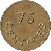 75 Centimes - Rouli Rouli – reverse