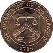 Token - Denver Mint (Department of the Treasury; 34 mm) – reverse
