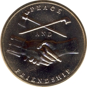 Token - Peace and Friendship (John Quincy Adams) – reverse