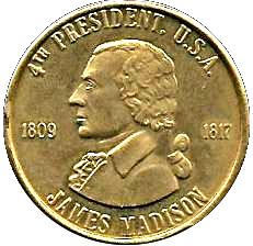 Token James Madison Tokens Numista
