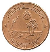 Token - The New Era Of Space Exploration (Titusville Florida) – obverse