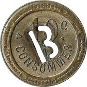 10 Centimes - A consommer (B) – reverse