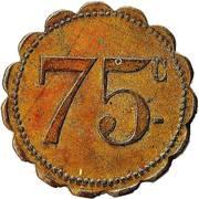 75 Centimes – obverse