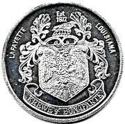 Mardi Gras Token - Krewe of Bonaparte (Lafayette, Louisiana) – obverse