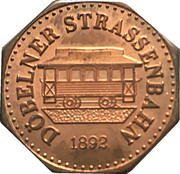 Token - Döbelner Strassenbahn – obverse