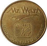 Car Wash Token - Mr. Wash – obverse
