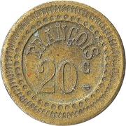 20 Centimes - François – reverse