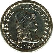 Replica - 10 Dollars Liberty Cap – reverse