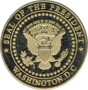 Token - The White House – reverse