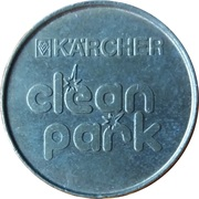 Car Wash Token - Kärcher Clean Park (Wasch Center Wagner; Datteln) – reverse