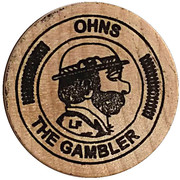 Token - Ohns The Gambler – obverse