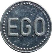 Token - Pfand-marke E.G.O. – obverse