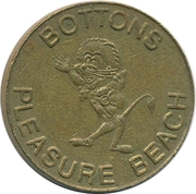 1 Token - Bottons Pleasure Beach (Great Yarmouth) – obverse