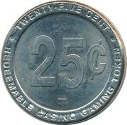 25 Cent Gaming Token - Seabourn – reverse