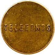 Telephone Token - Telefonos – reverse