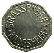 Token - Strassenbahn Hildesheim – reverse