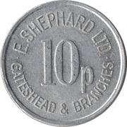 10 Pence - E. Shephard Ltd (Gateshead) – obverse
