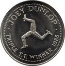 Token - Joey Dunlop (Triple T.T. Winner 1985) – obverse